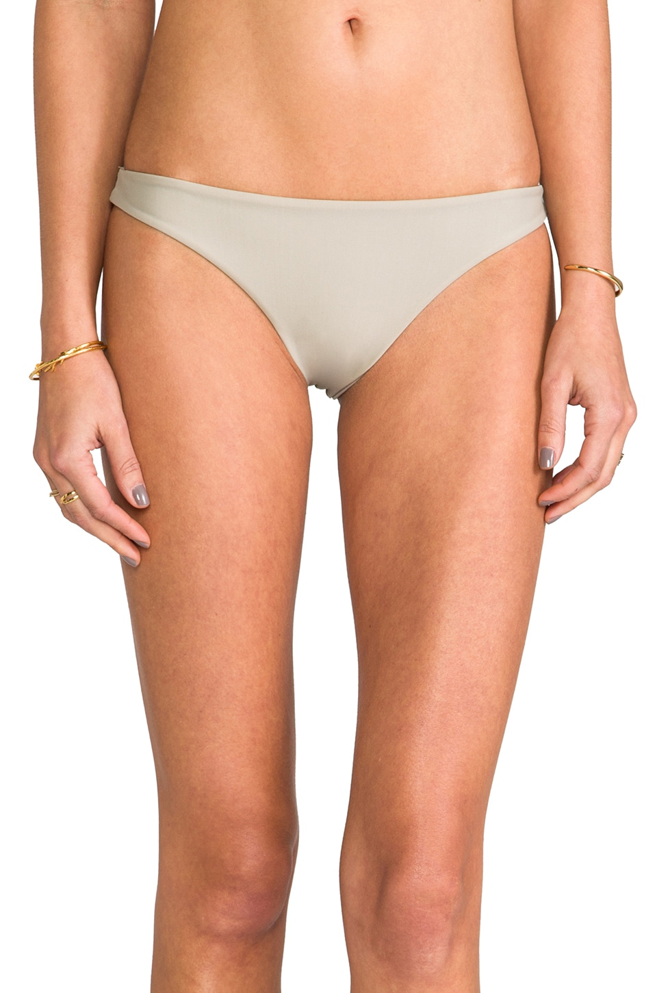 MIKOH Miyako Skimpy Bottom in Coconut