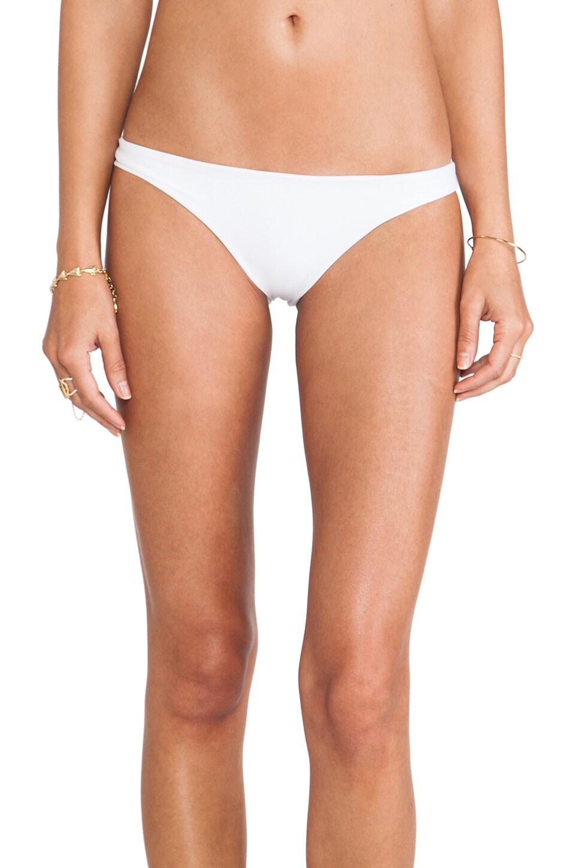MIKOH Swimwear Lahaina Extra Skimpy Bottom in Foam