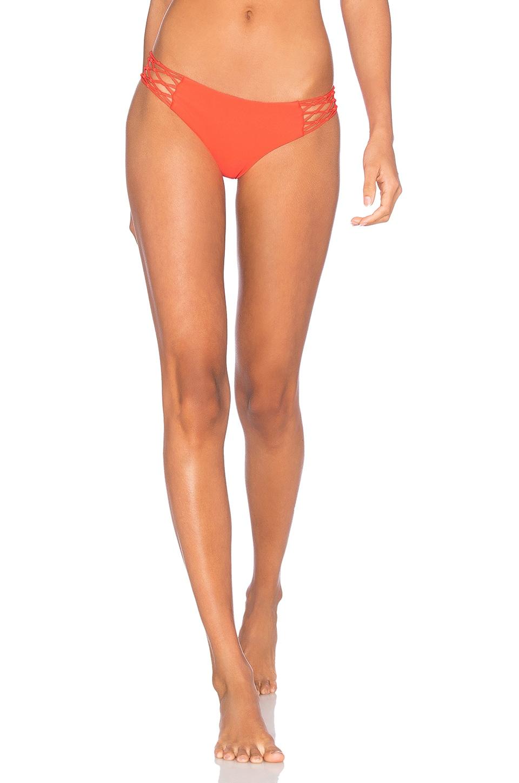 Rockies Crocheted Detailed Bikini Bottom by MIKOH
