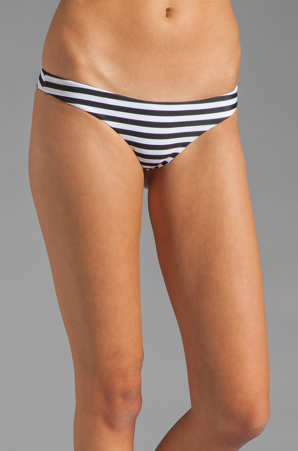 MIKOH Lahaina Extra Skimpy Bottom in Swell Lines