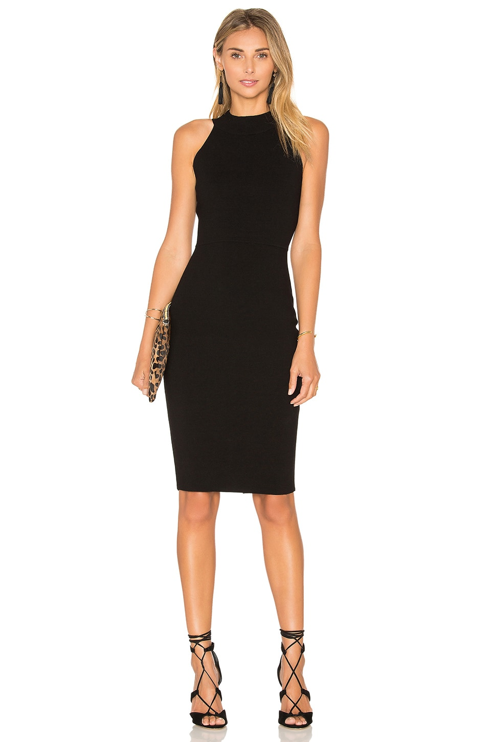 Structured Midi Dress by MILLY