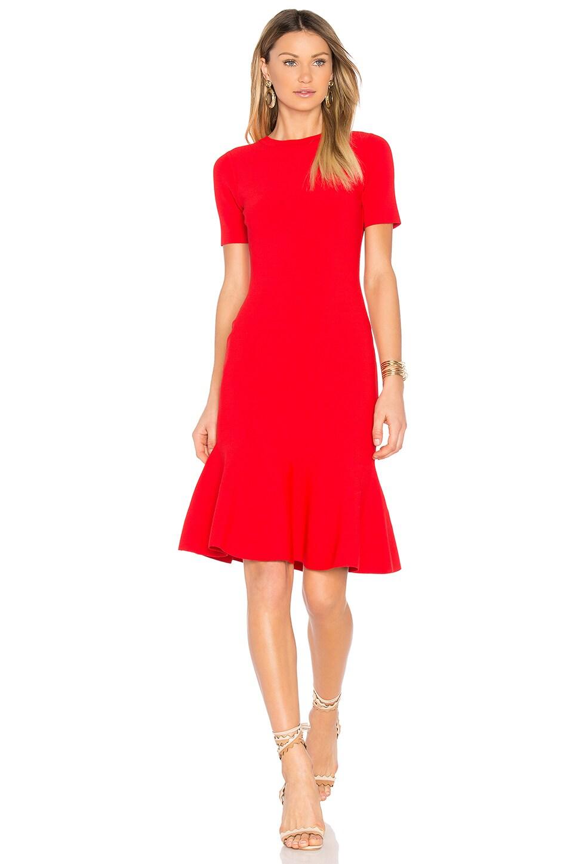 409e6d2d917f MILLY Mermaid Hem Dress in Red | REVOLVE