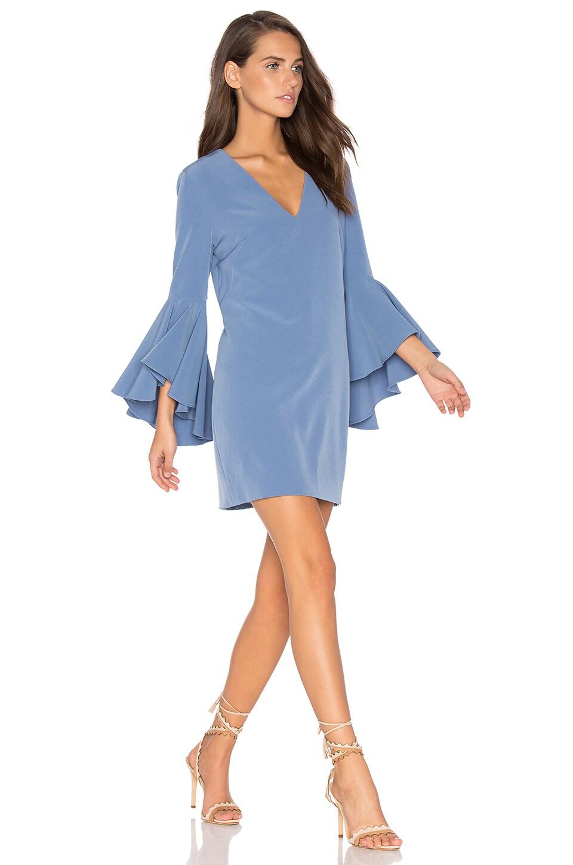 MILLY Nicole Dress in Steel Blue