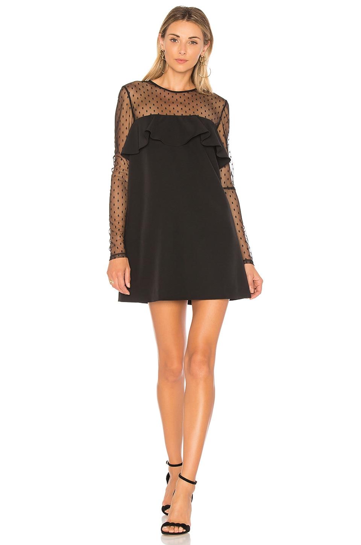 MILLY Sophie Dress in Black | REVOLVE