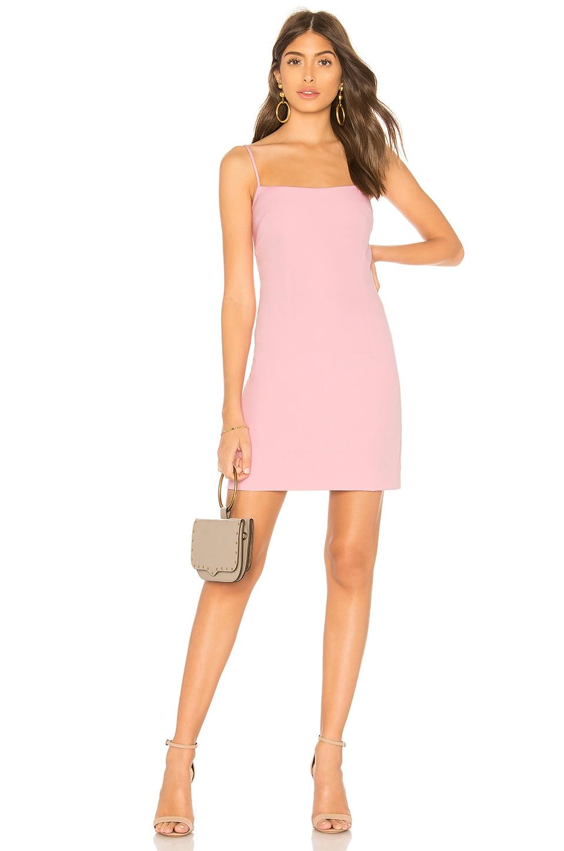 MILLY Mini Slip Dress in Bubblegum