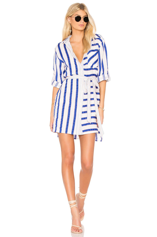 Stripe Shirt Dress by MILLY