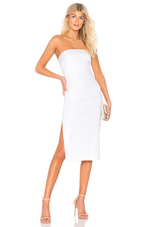 MILLY Eva Dress in White