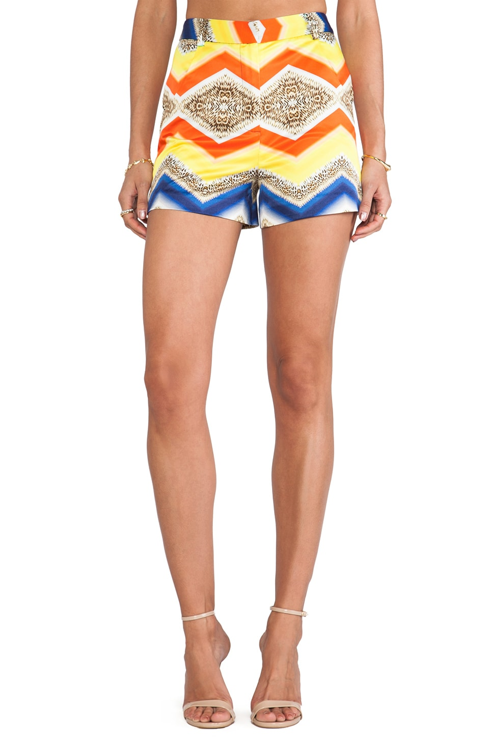 MILLY True Waist Short in Multi