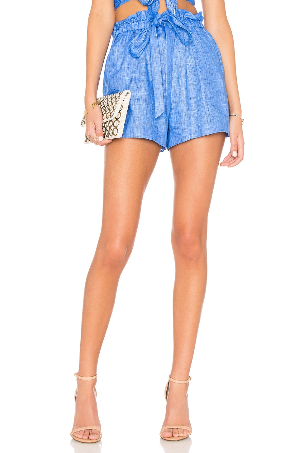 MILLY Kori Short en Cobalt