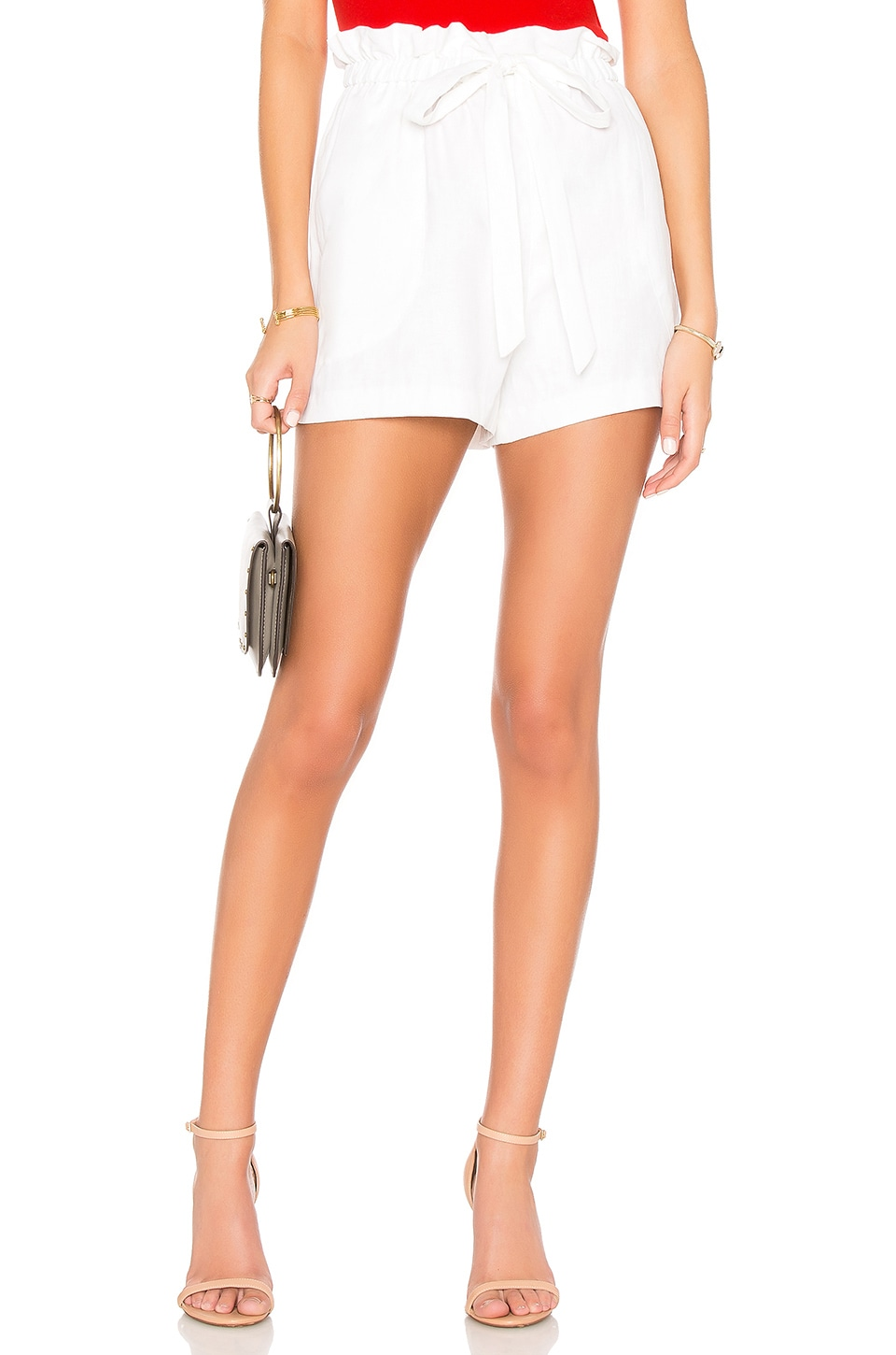 MILLY Kori Short en White