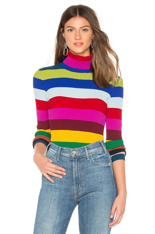 Rib Turtleneck Pullover