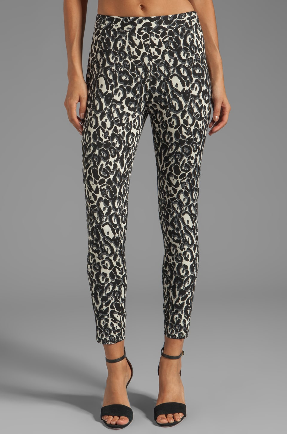MILLY Bailey Slim Pant in Multi