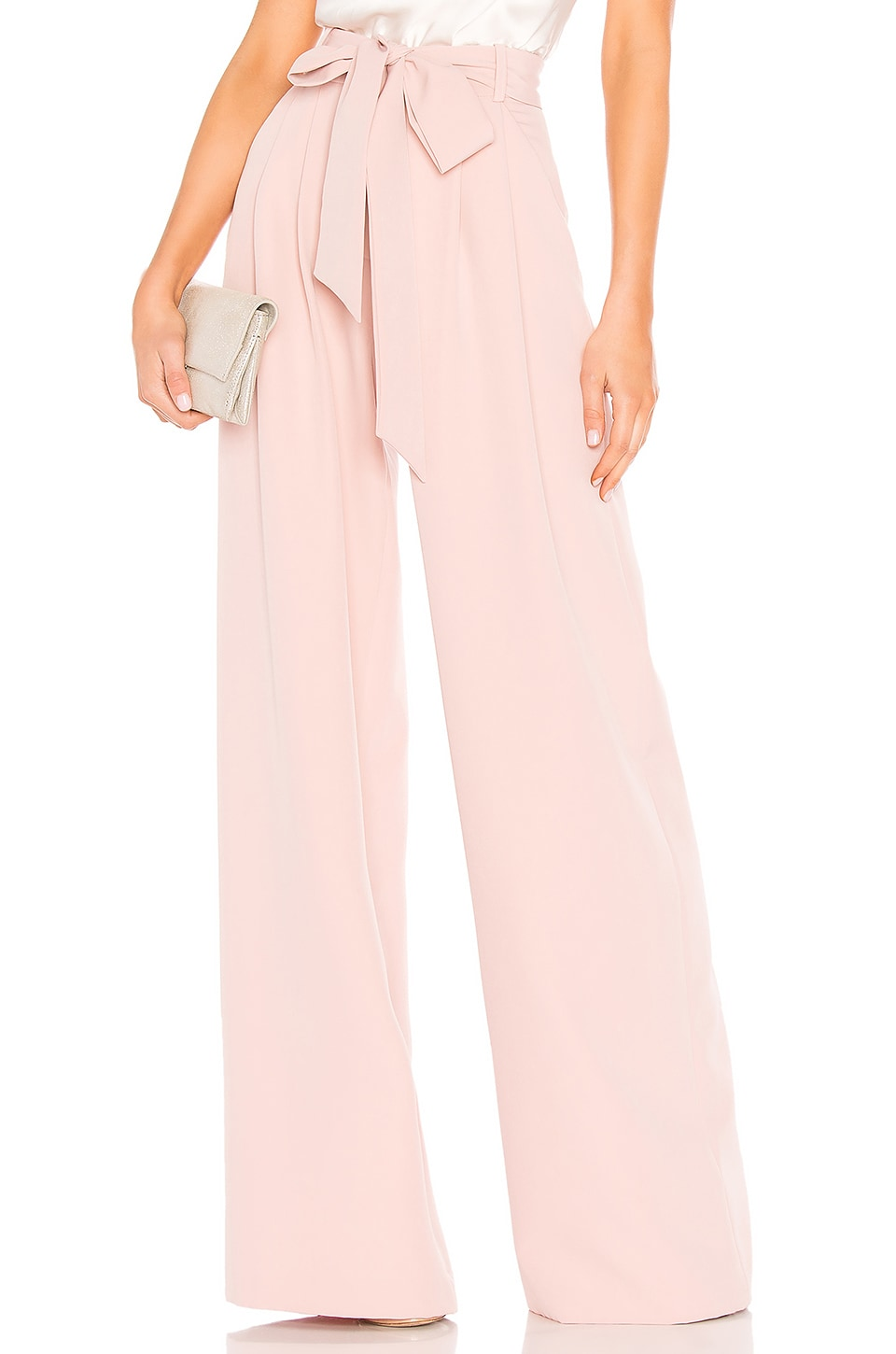 MILLY Natalie Pant in Blush