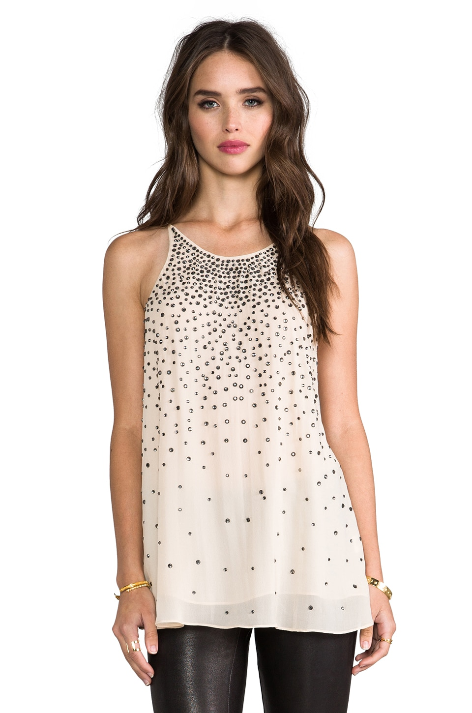 MILLY Cocktail Tank in Nude