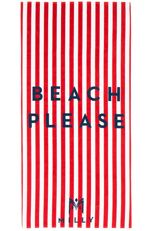 Beach Please Striped Towel