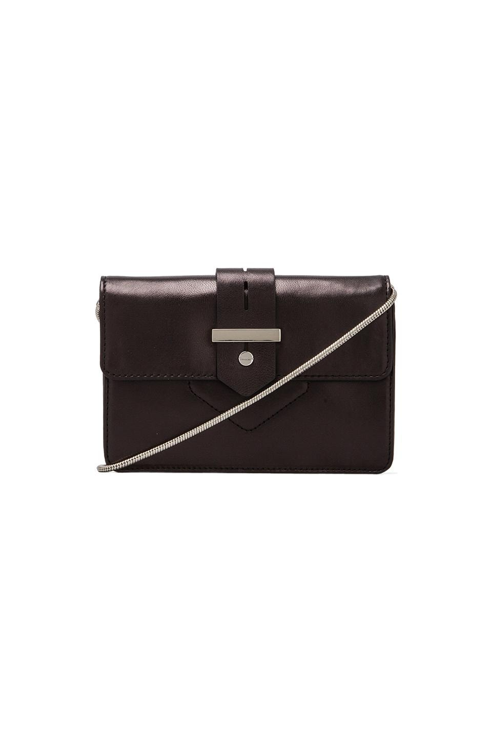 MILLY Bradley Collection Mini Bag in Black