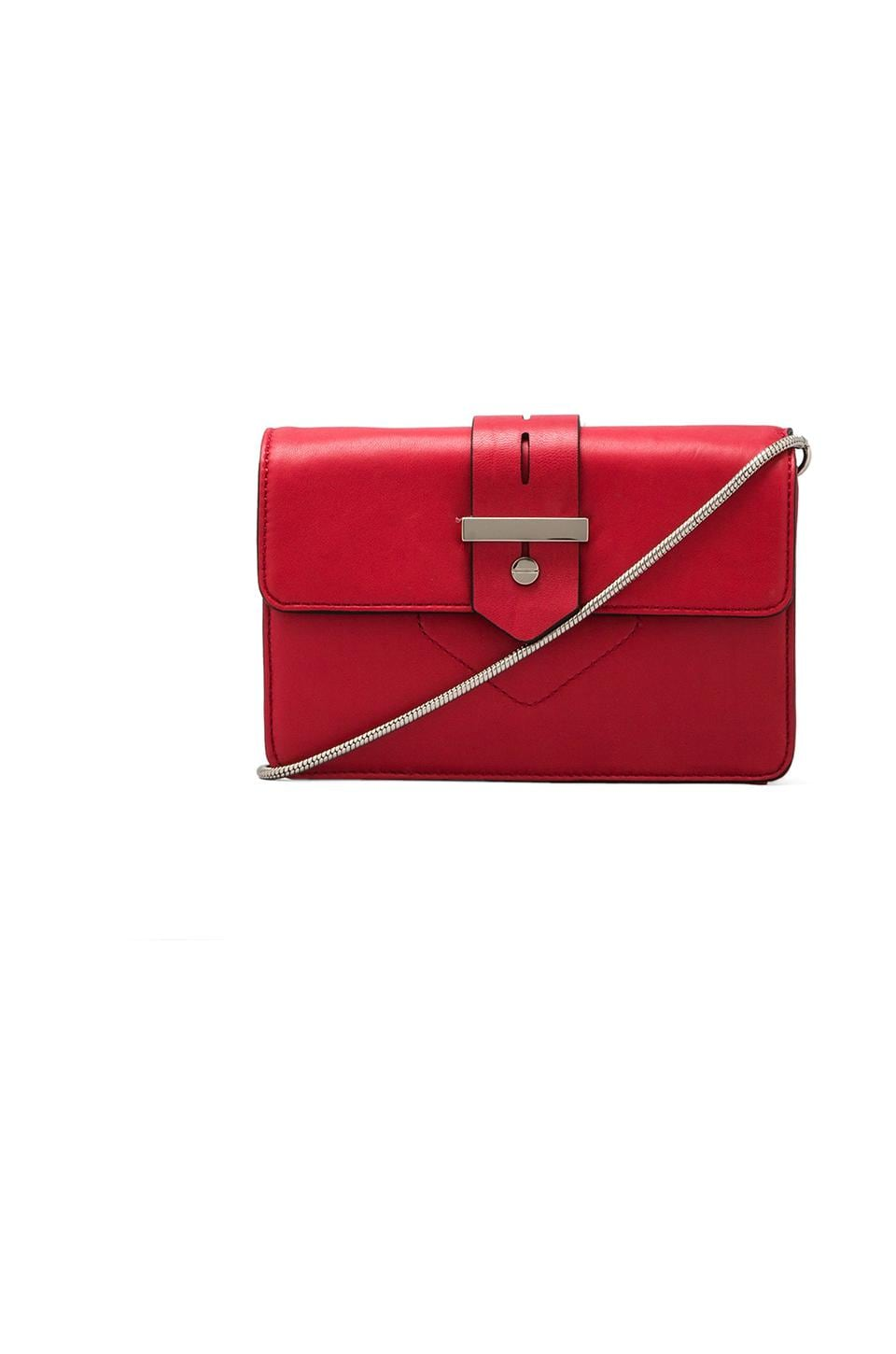 MILLY Bradley Collection Mini Bag in Red