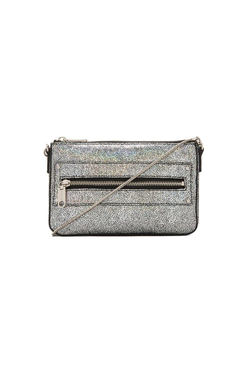 MILLY Delano Metallic Collection in Silver