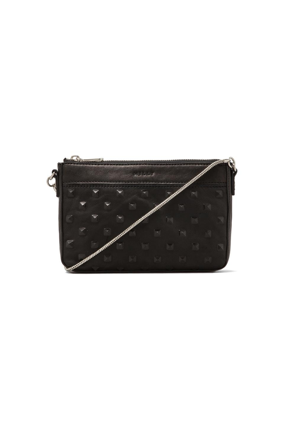 MILLY Perry Collection Mini Bag in Black
