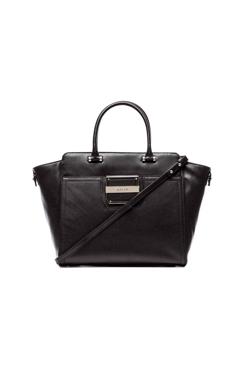 MILLY Colby Collection Tote in Black