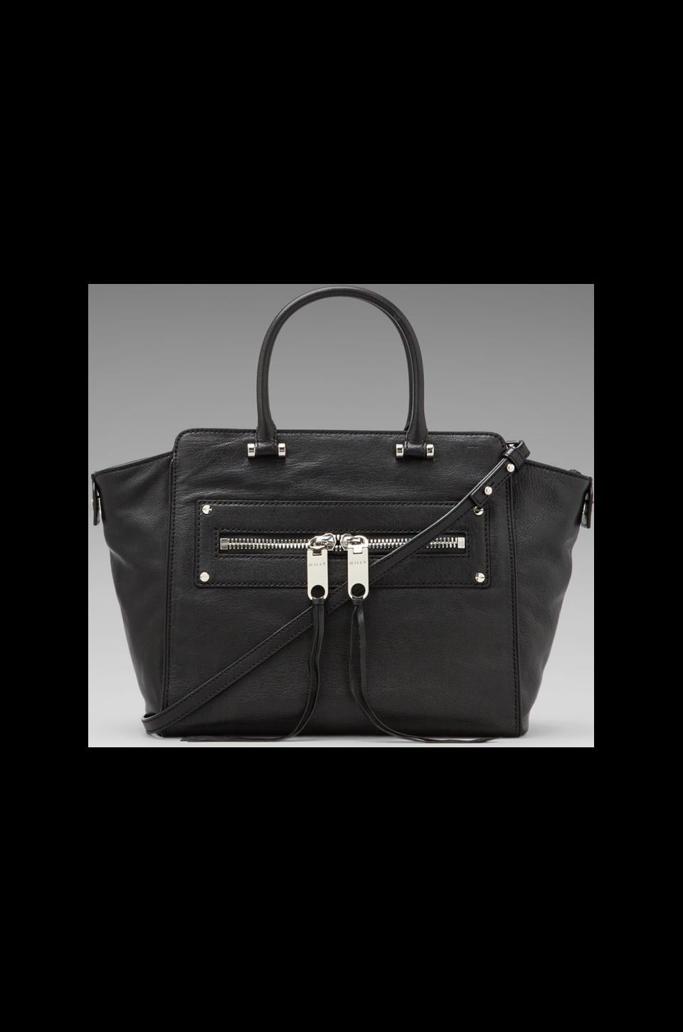 MILLY Riley Collection Tote in Black