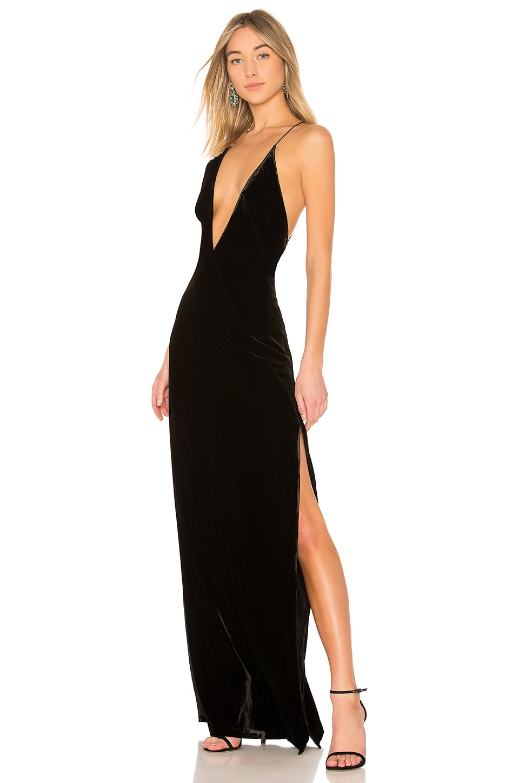 Alexandra Velvet Maxi Dress