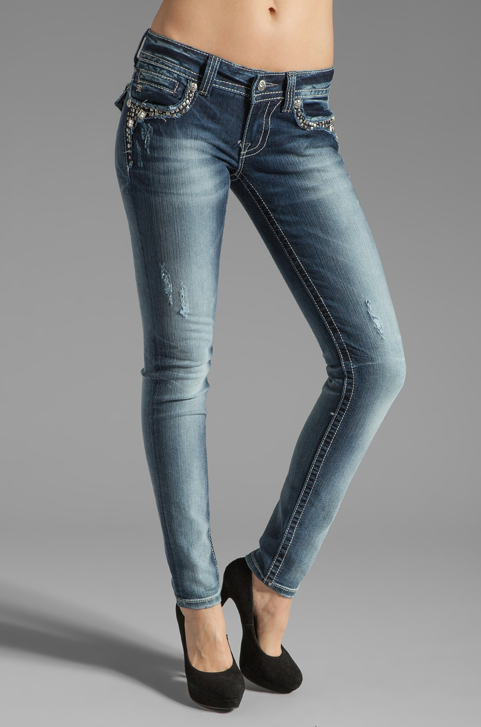 Miss Me Jeans Skinny in Medium