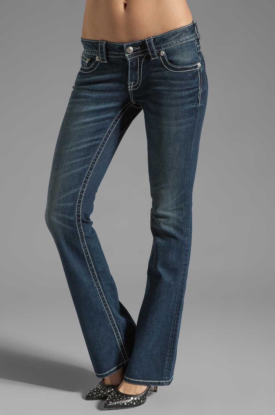 Miss Me Jeans Boot Cut Jean in MK 150