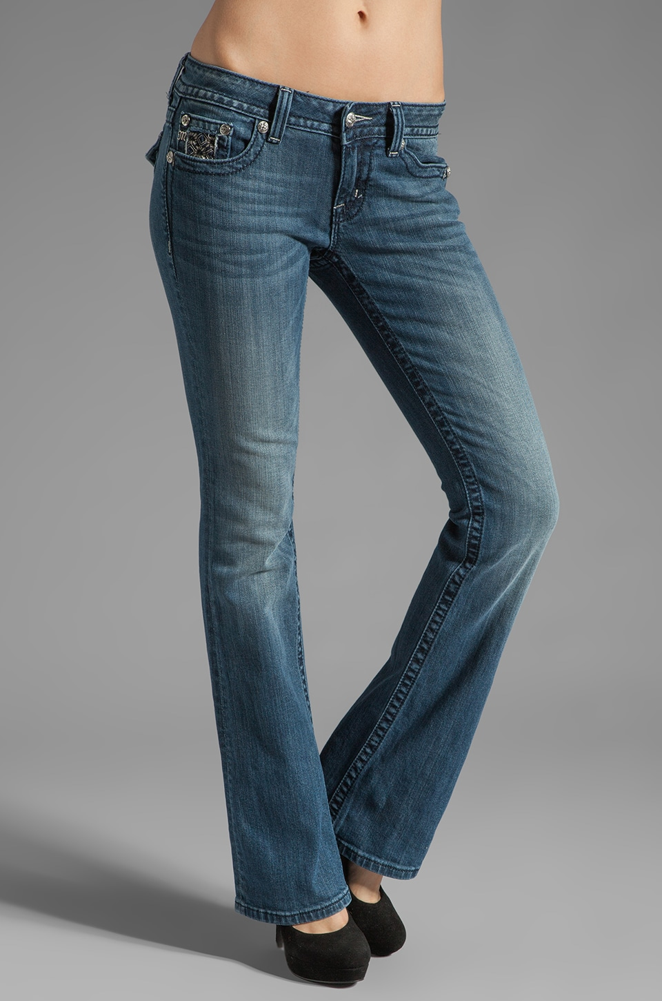 Miss Me Jeans Boot Cut Jeans in Med 96