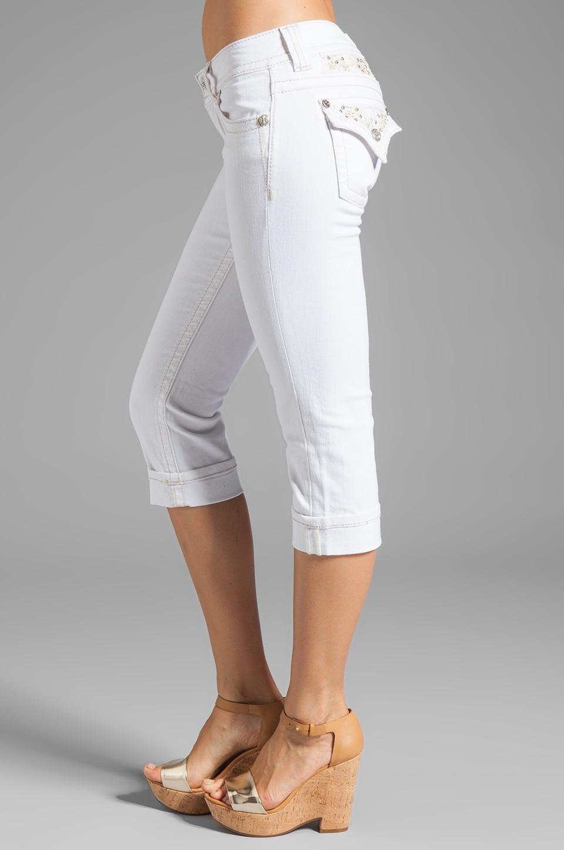Miss Me Jeans Capri in White | REVOLVE