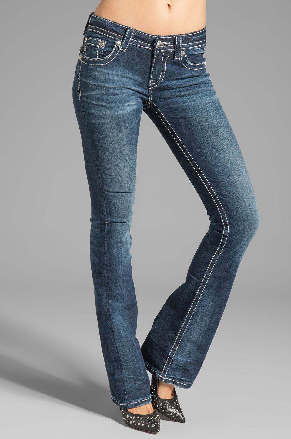Miss Me Jeans Bootcut in DK 194