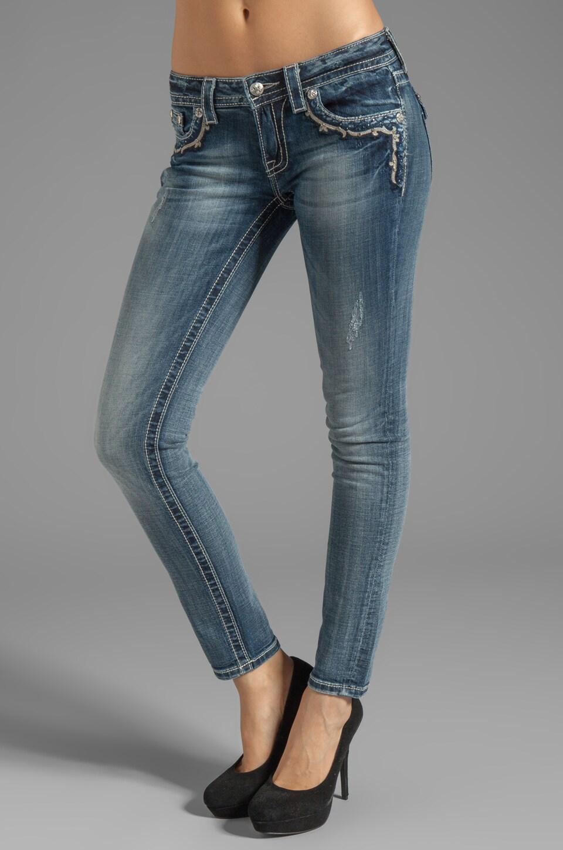 Miss Me Jeans Skinny in Med 124