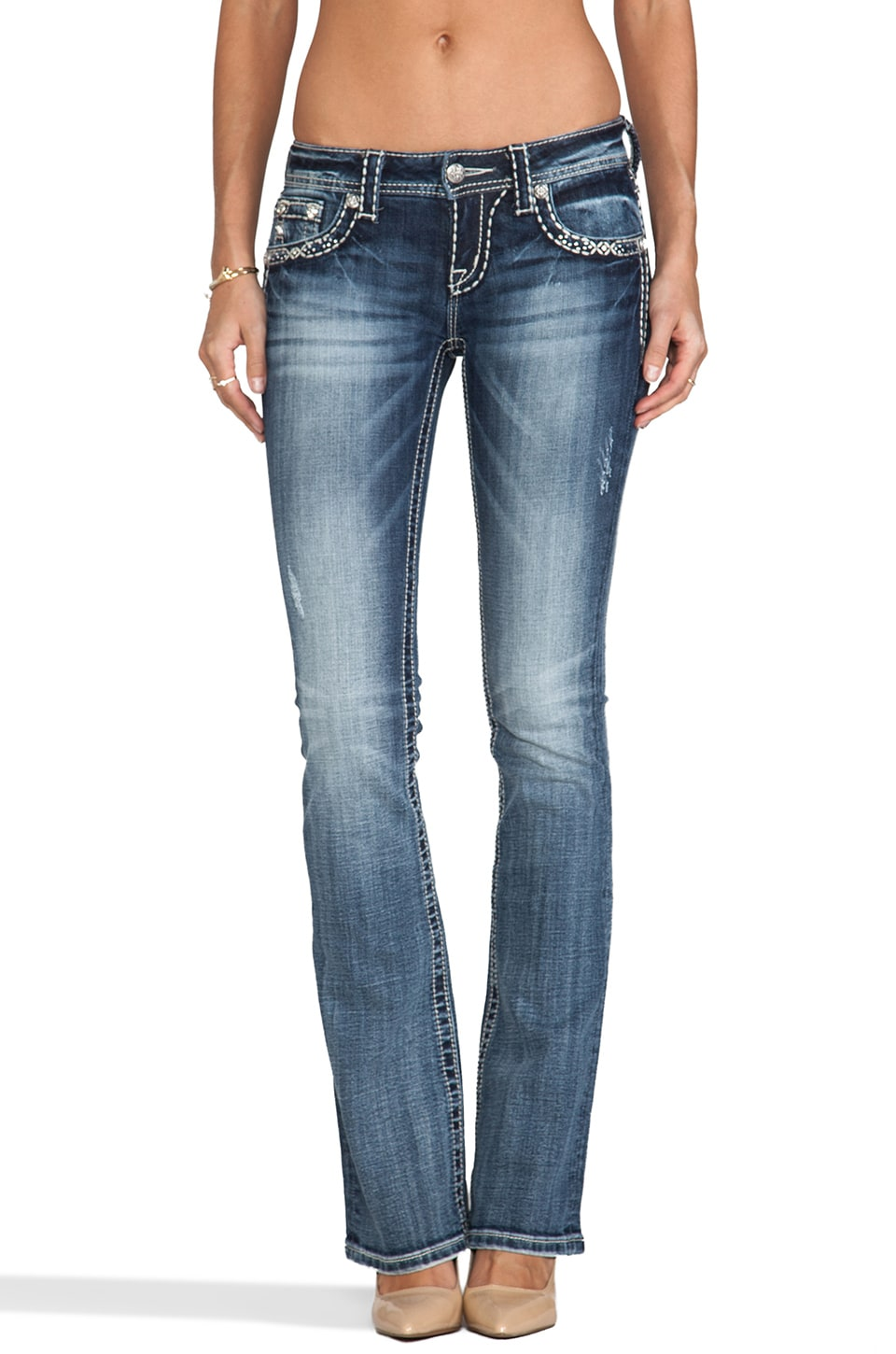 Miss Me Jeans Bootcut in Med 135