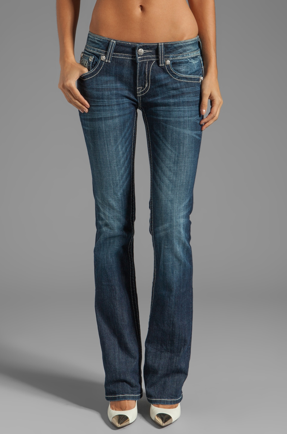 Miss Me Jeans Bootcut in MK 222