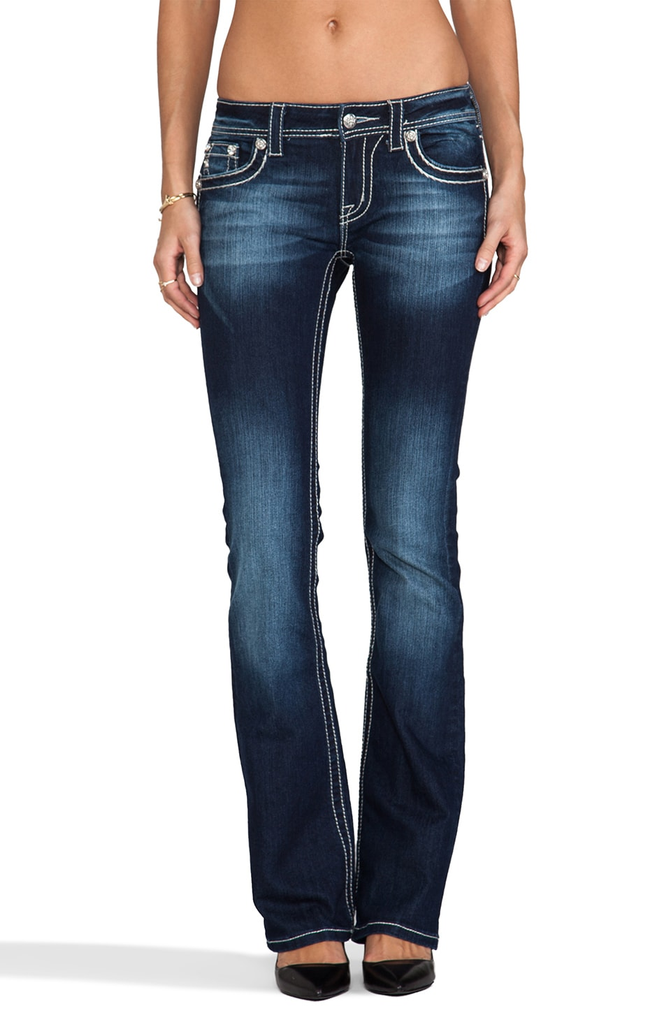 Miss Me Jeans Boot in DK 213