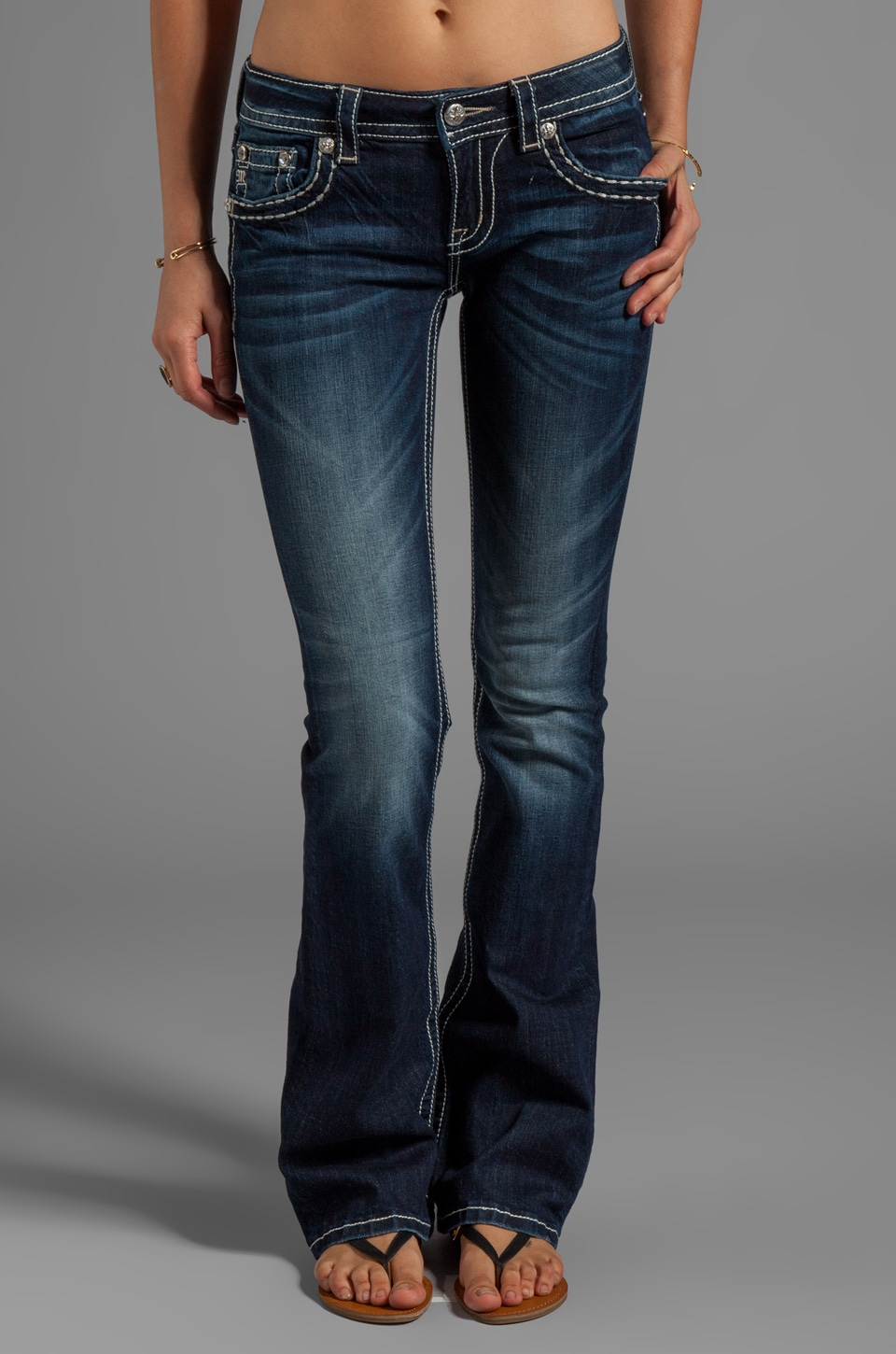 Miss Me Jeans Bootcut in DK216