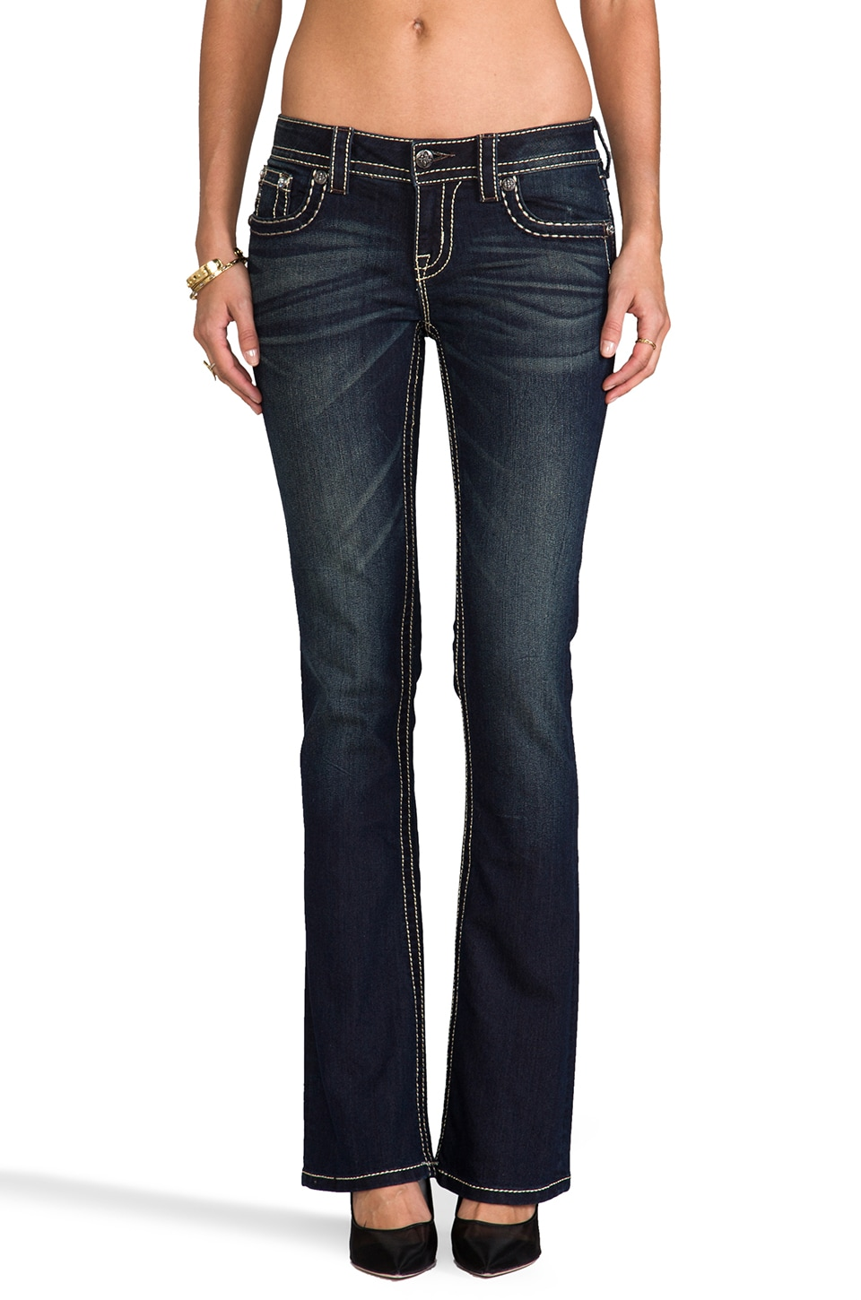Miss Me Jeans Bootcut in DK 239