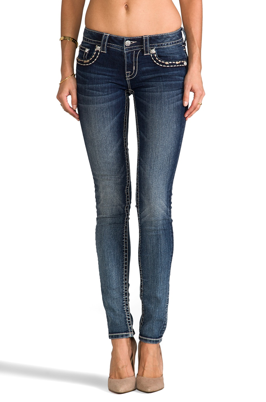 Miss Me Jeans Skinny in MED 169