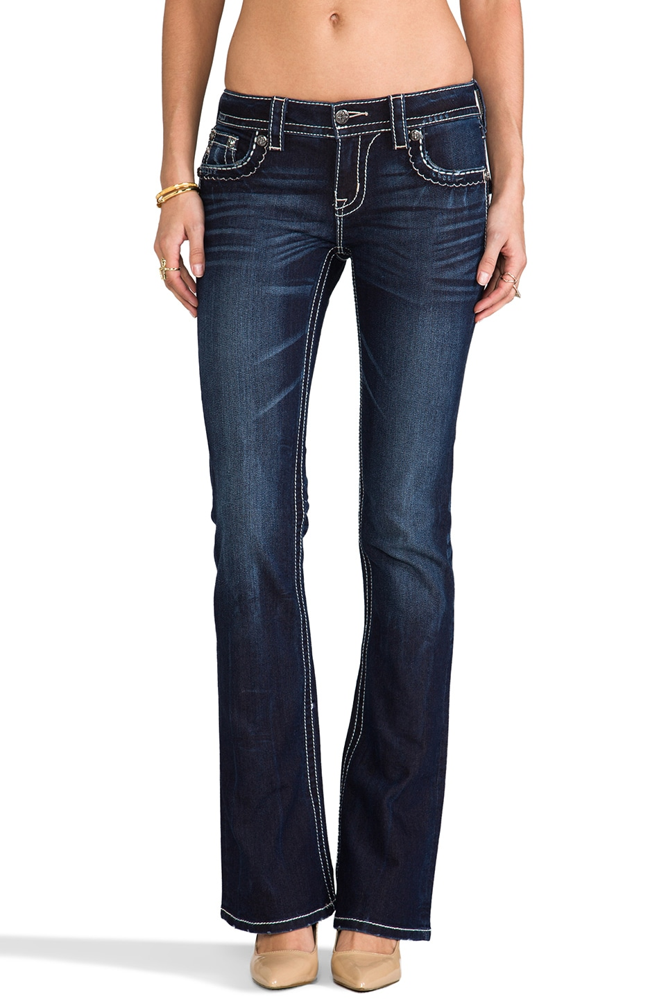 Miss Me Jeans Bootcut in DK 247