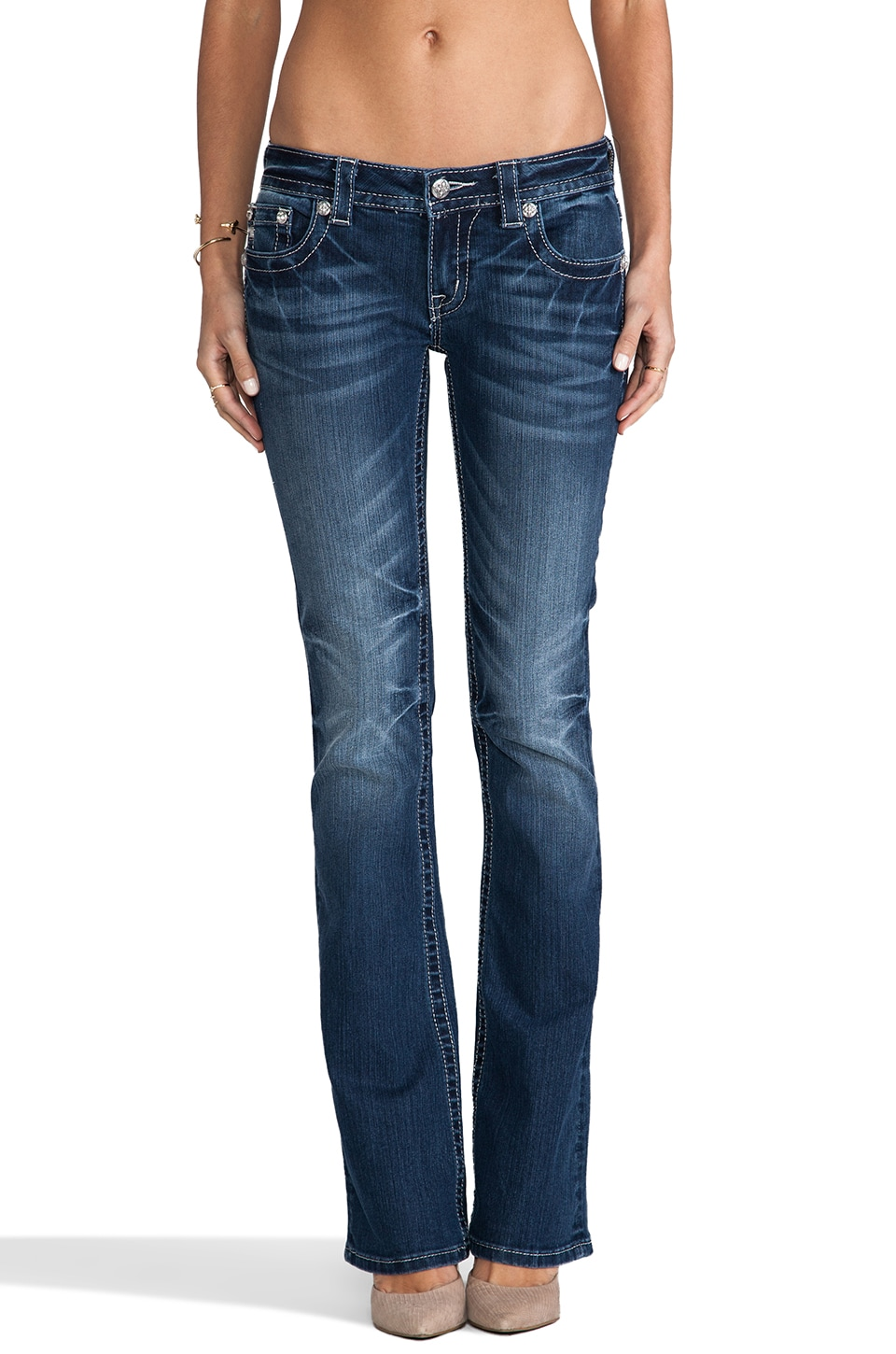 Miss Me Jeans Bootcut in DK 260