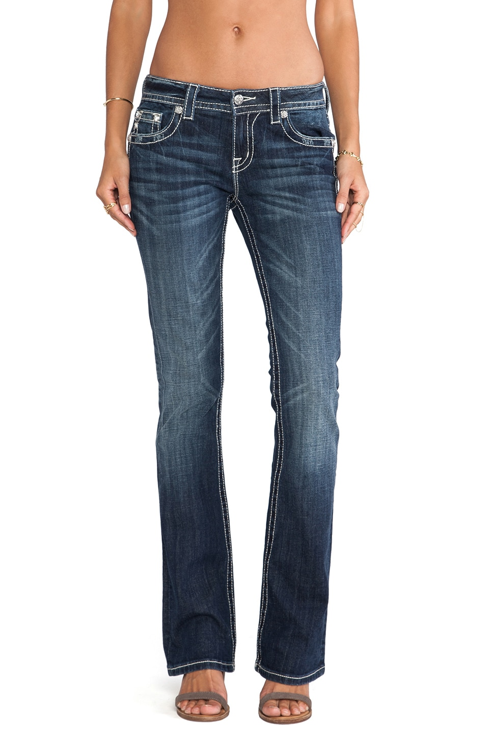 Miss Me Jeans Relaxed Bootcut in MK 299