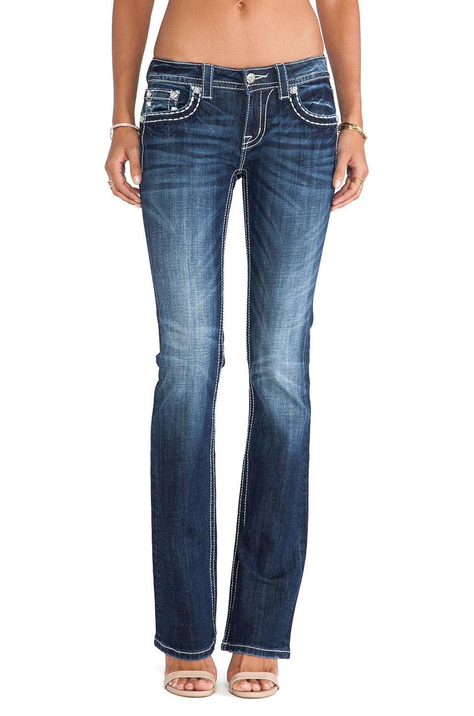 Miss Me Jeans Boot in MK 322