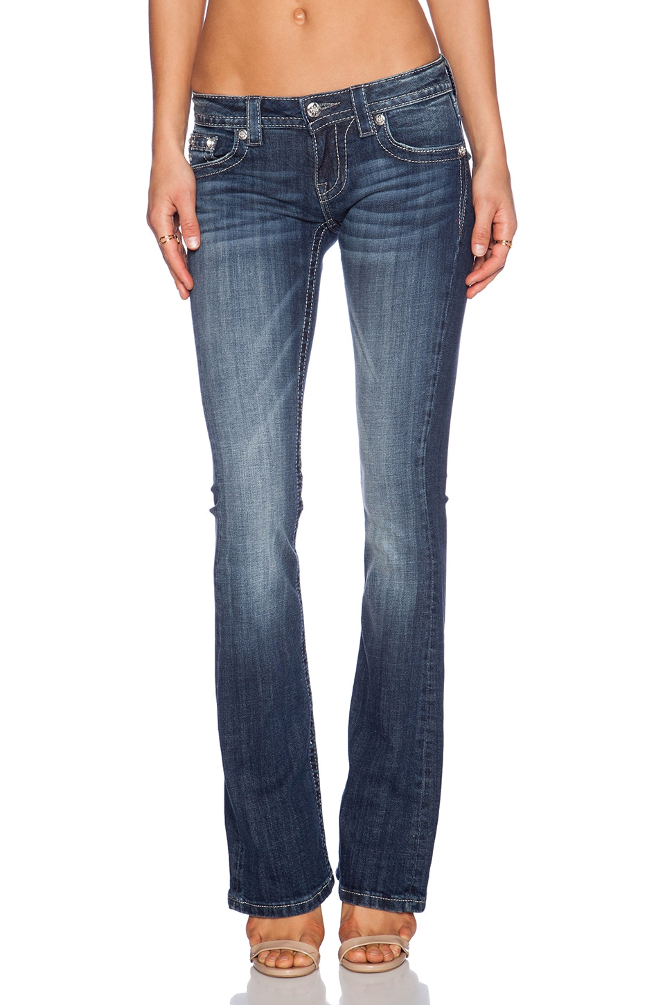 Miss Me Jeans Bootcut Jean in MK 302