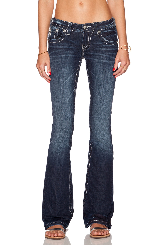 Miss Me Jeans Bootcut Jean in DK 343