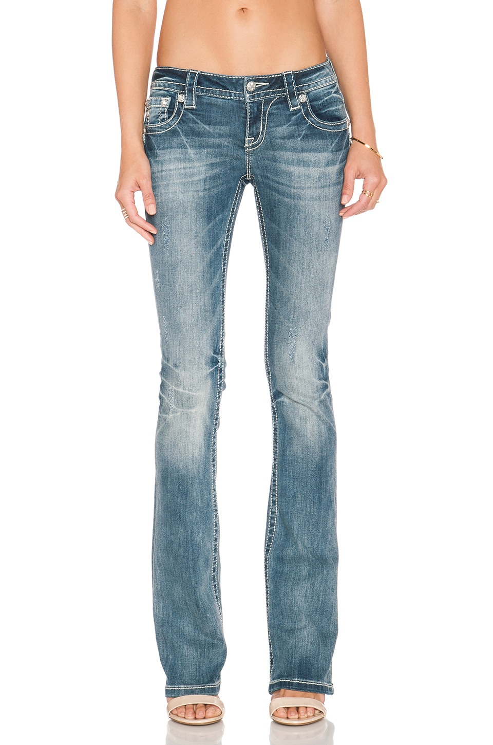 Miss Me Jeans Bootcut Jean in Med 314