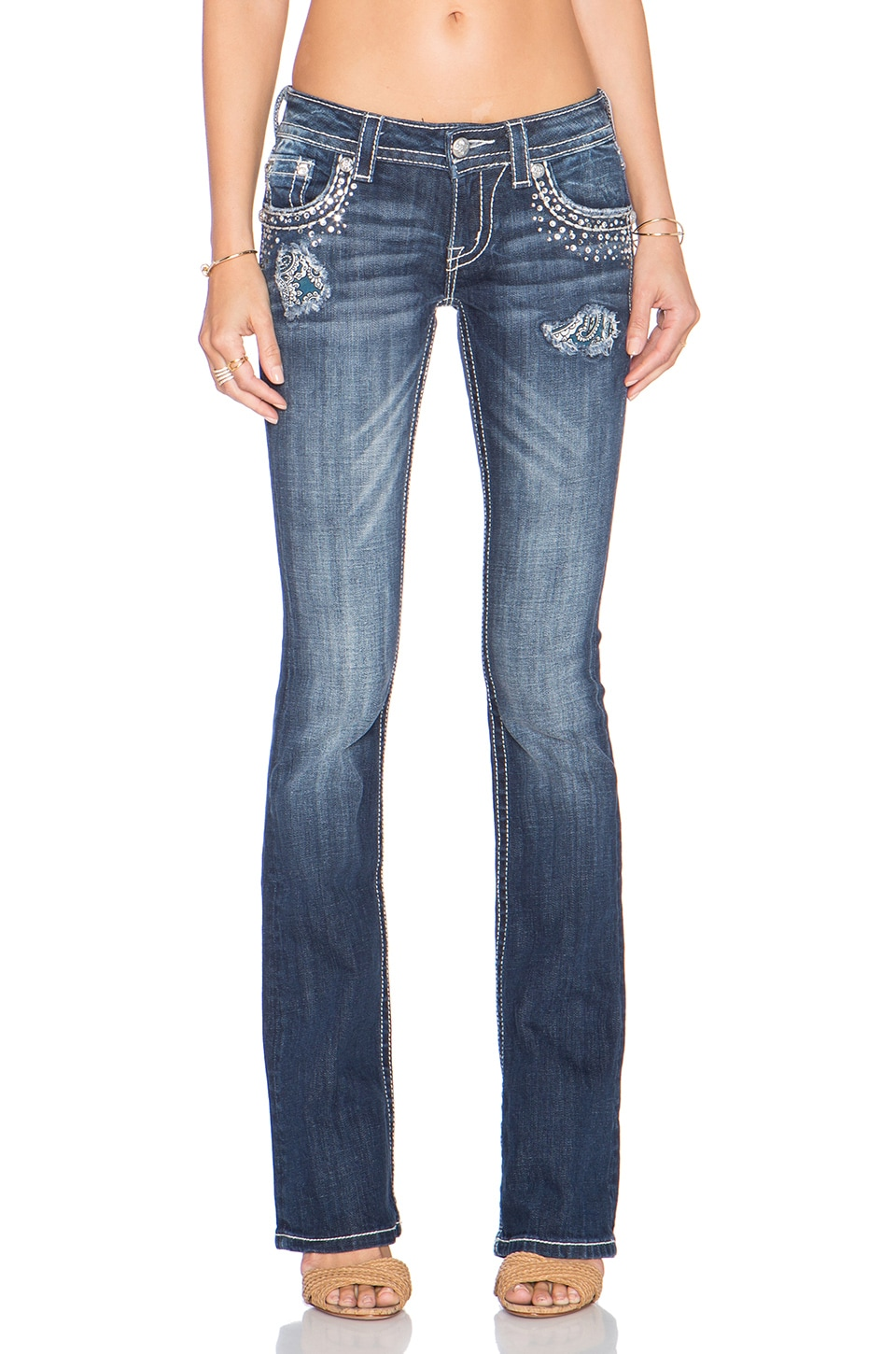 Miss Me Jeans Bootcut in MK 414