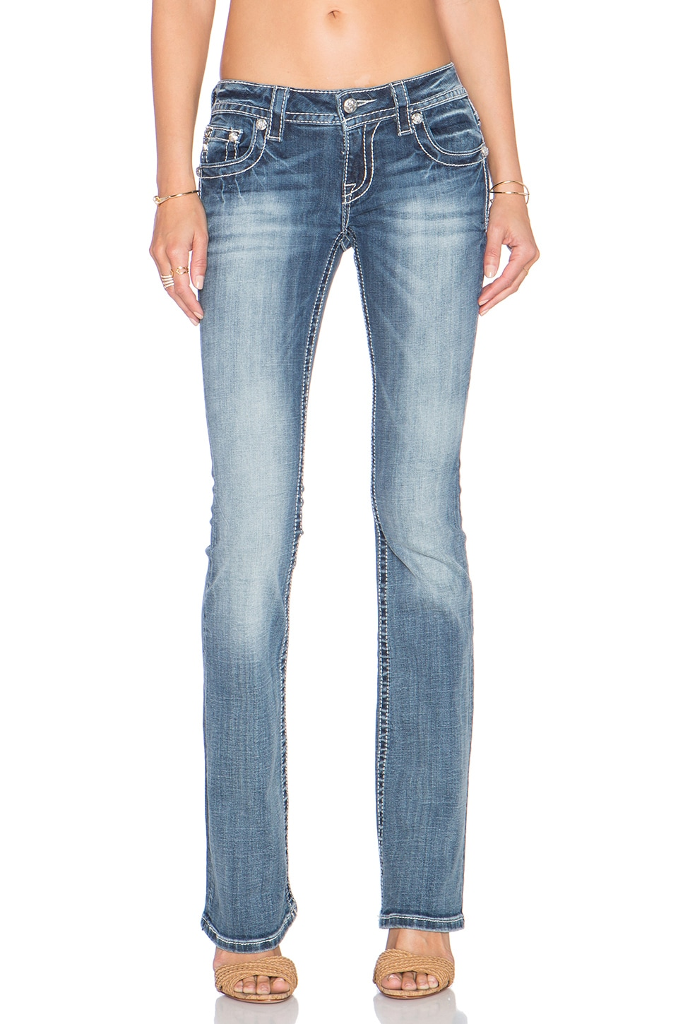 Miss Me women's clothes capture the multi-dimensional character and style of the modern girl. Shop Buckle's women's clothing collection by Miss Me and find Miss Me jeans and pants, tops, hoodies and sweaters, skirts and dresses, vests, shorts and crops and accessories.