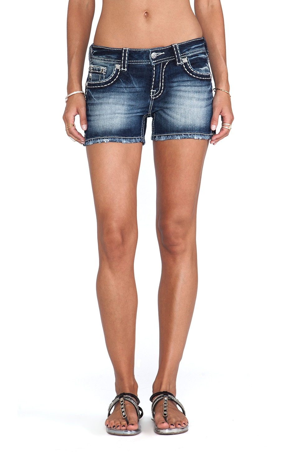 Miss Me Jeans Shorts in MK 286
