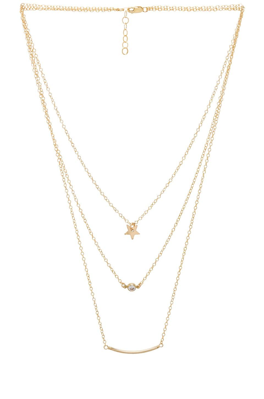 Mimi & Lu Silvie Necklace in Gold