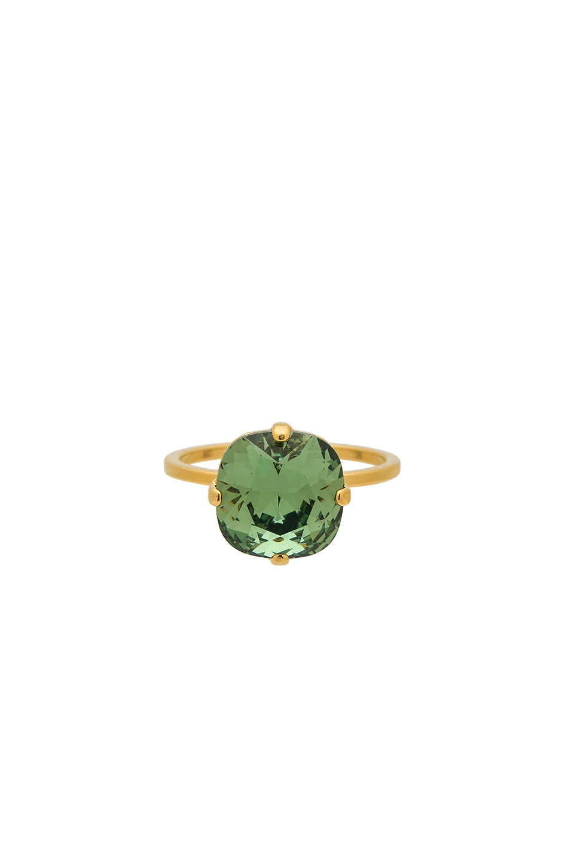 MIMI & LU Amaya Ring in Metallic Gold